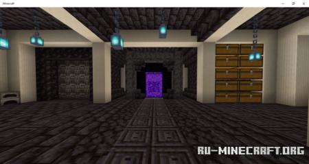 Скачать Nether Base by LwB3618 для Minecraft PE