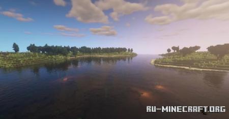 Скачать Ritrasien - Great field and oceans для Minecraft