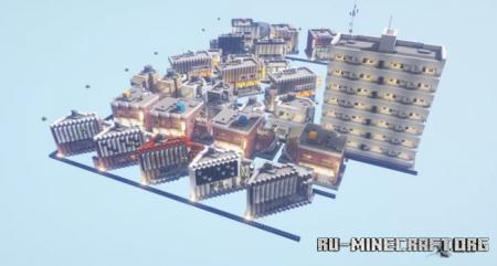 Скачать Twenty Eight Buildings для Minecraft