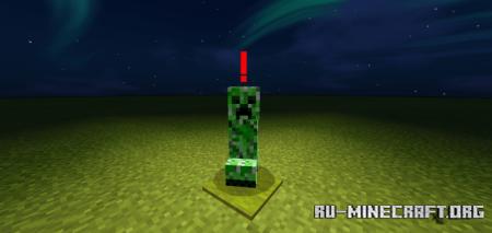 Скачать Monster Indicator – Easily Spot Hostile Mobs для Minecraft PE 1.16
