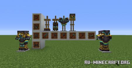 Скачать Fishy's Netherite для Minecraft 1.16
