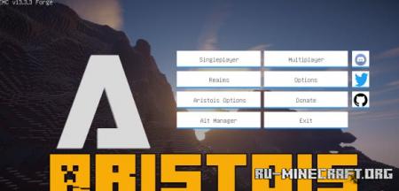 Скачать Aristois для Minecraft 1.16.3