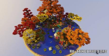 Скачать Autumn Forest by Mauripichi для Minecraft