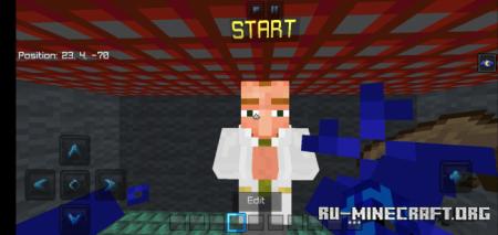 Скачать Mini Parkour by Dark_Maps для Minecraft PE