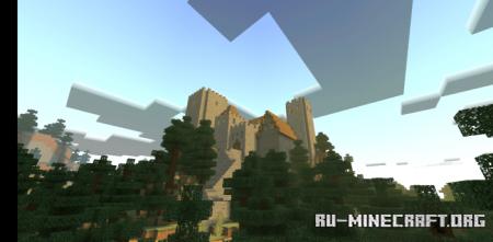 Скачать Mysterious Castle для Minecraft PE
