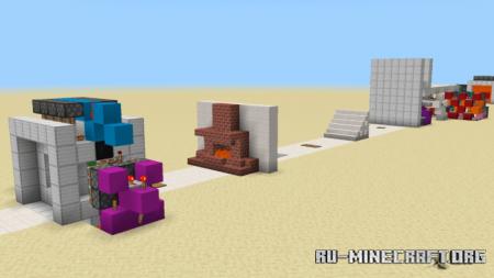 Скачать 15 Entrances для Minecraft PE