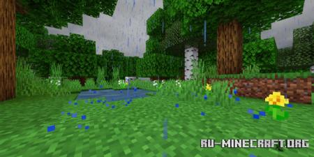 Скачать Mystic Rain Pack для Minecraft PE 1.15