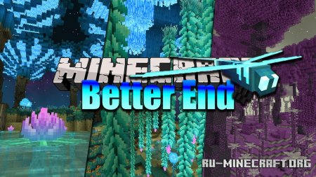 Скачать Better End для Minecraft 1.16.4