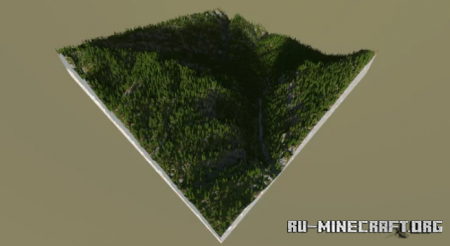 Скачать Forest on the Rocks для Minecraft