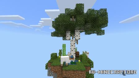 Скачать The Sky Island's для Minecraft PE