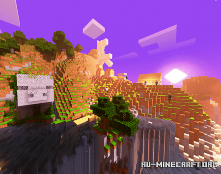 Скачать Ultra Engine Shader для Minecraft PE 1.16