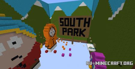 Скачать South Parkour для Minecraft
