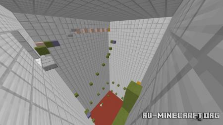 Скачать 25 Levels of Parkour With Effects для Minecraft