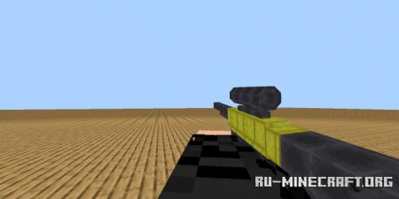 Скачать 3D Guns and Weapons для Minecraft PE 1.16