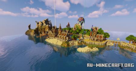 Скачать Small Medieval Church by Osterhamster для Minecraft