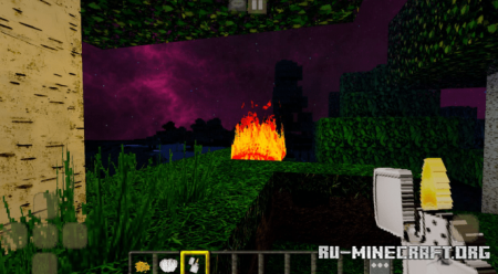 Скачать FeluxisHD RealisticPack для Minecraft PE 1.16