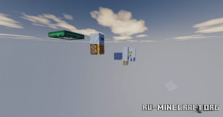 Скачать Parkour Adventure by DKB66 для Minecraft