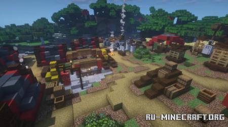 Скачать Dreamon Hunter Camp для Minecraft