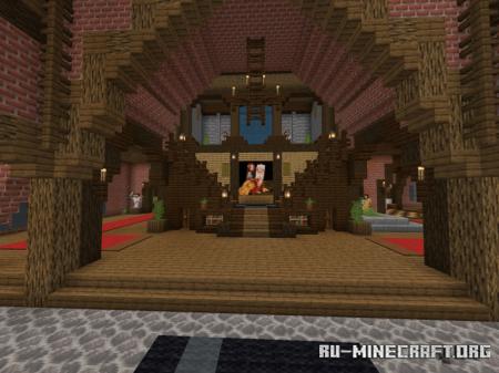 Скачать Green Land Estate Mansion (Narnia World) для Minecraft PE