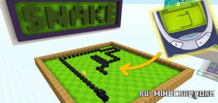 Скачать The Snake Game для Minecraft PE