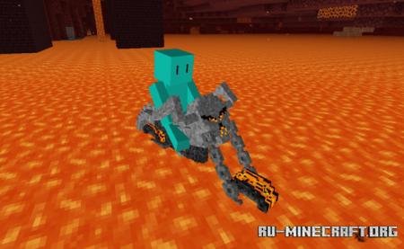 Скачать Ghost Rider's Hell Cycle для Minecraft PE 1.16