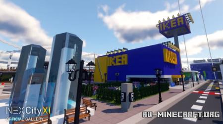 Скачать NEXCity XI - The Most Detailed City Map для Minecraft