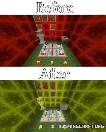 Скачать Ores To Gem [16x16] для Minecraft PE 1.16