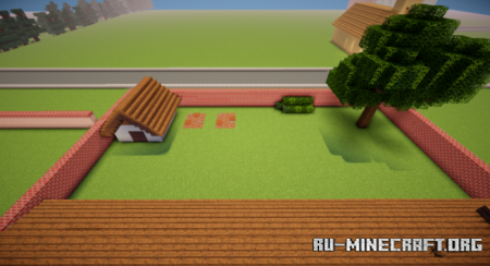 Скачать Rick And Morty map by Kaeru Gaming для Minecraft