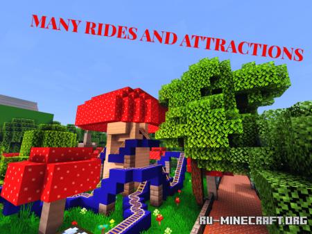 Скачать Blazer Land Theme Park для Minecraft PE