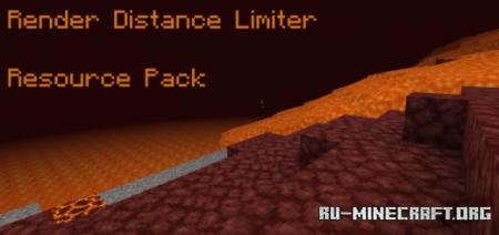 Скачать Render Distance Limiter для Minecraft PE 1.16