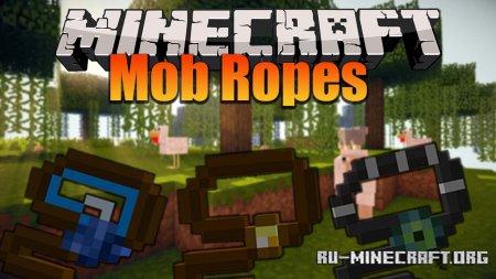 Скачать Mob Ropes для Minecraft 1.16.4