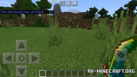 Скачать Working Terraria Weapons: Now in Bedrock для Minecraft PE 1.16