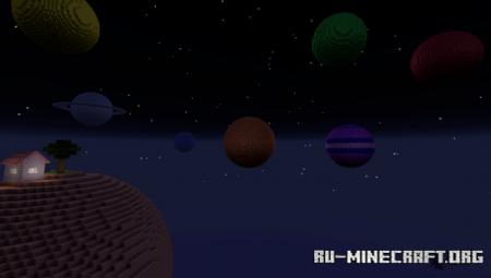 Скачать Planets M для Minecraft