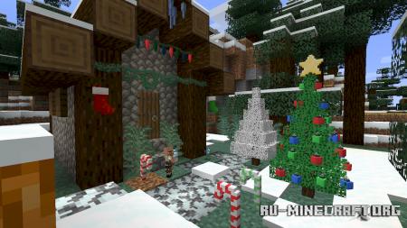 Скачать Christmas Spirit для Minecraft 1.16.4