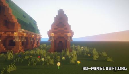 Скачать Pack of Three Houses by Chrostus для Minecraft