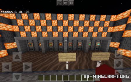 Скачать PvP And Build Practice для Minecraft PE