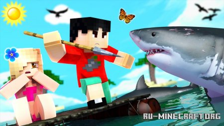 Скачать Just A Raft для Minecraft 1.16.4