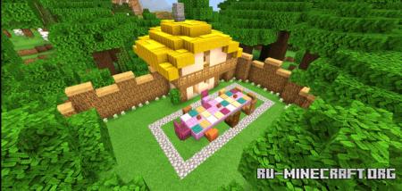 Скачать The Fairy Tale World для Minecraft PE