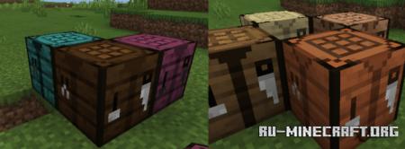 Скачать Crafting Tables Plus для Minecraft PE 1.15