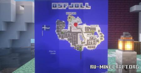 Скачать Osfjoll - A Scandinavian City для Minecraft