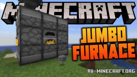 Скачать Jumbo Furnace для Minecraft 1.16.4