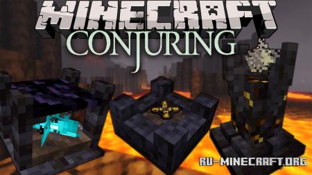 Скачать The Conjuring для Minecraft 1.16.4