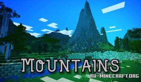 Скачать Mountains by Yeshua12345 для Minecraft