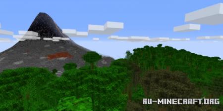 Скачать Volcanic Islands by Chris_Pie для Minecraft