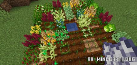 Скачать Pam's HarvestCraft 2 – Crops для Minecraft 1.16.4