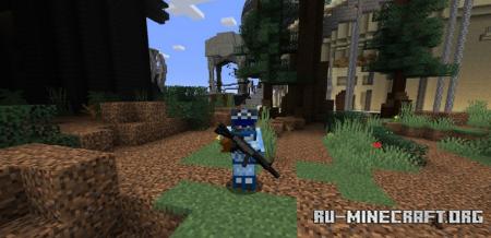 Скачать A.V.A – Alliance of Valiant Arms Guns для Minecraft 1.16.4
