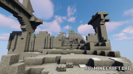 Скачать Dark Souls - RPG Modded Adventure для Minecraft