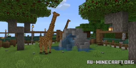 Скачать Minecraft Zoo V.1 для Minecraft PE