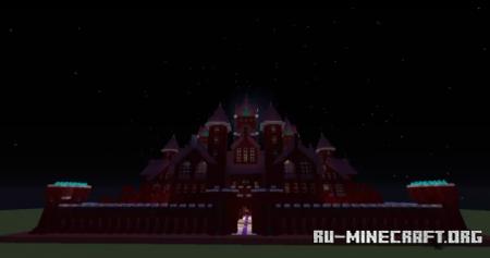 Скачать Nether Themed Castle для Minecraft