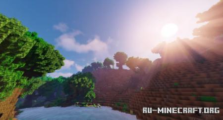 Скачать Granite Jungle Mountains для Minecraft